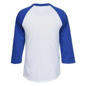 Champion Tagless Raglan Baseball Tee - Screen Image 1 of 2