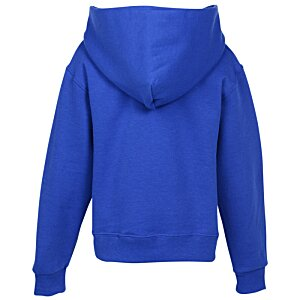 Jerzees Nublend Hooded Sweatshirt - Youth - Embroidered Image 1 of 1