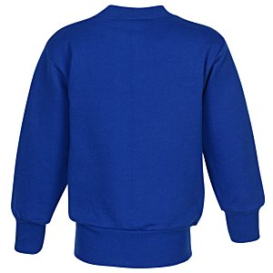 Hanes ComfortBlend Sweatshirt - Youth - Embroidered Image 1 of 2