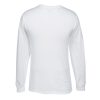 Jerzees Blend 50/50 LS T-Shirt - White - Screen Image 1 of 1