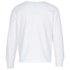 View Extra Image 1 of 1 of Jerzees Dri-Power 50/50 LS T-Shirt - Youth - White - Screen