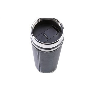 Leatherette Tumbler - 16 oz. - Screen Image 1 of 2