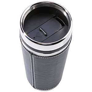 Leatherette Tumbler - 16 oz. - Screen Image 2 of 2