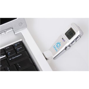 USB Flash Drive w/Clock - 1GB Image 1 of 3