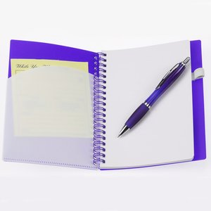 File-A-Way Notebook w/Pen - Brights - 24 hr Image 1 of 1