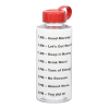 View Image 2 of 3 of Clear Impact Mountain Bottle with Tethered Lid - 36 oz. - Drink Guide