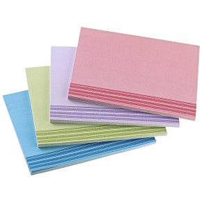 Bic Sticky Note - Designer - 3x4 - Stripes - 50 Sheet