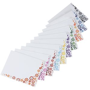 Bic Sticky Note - Designer - 3x4 - Dots - 25 Sheet