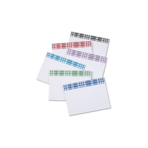 Bic Sticky Note - Designer - 3x4 - Plaid - 25 Sheet Image 1 of 1