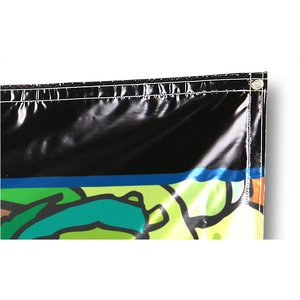 Indoor Banner with Rope on Corners - 4' x 10' Image 1 of 1