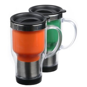 Verus Travel Mug - 16 oz. - Closeout Image 1 of 3