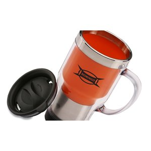 Verus Travel Mug - 16 oz. - Closeout Image 2 of 3