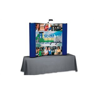 Standard Curved Tabletop Display - 6' – Full Color Image 1 of 2