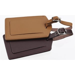 Terra Leather Luggage Tag - Closeout Image 1 of 2