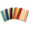 View Extra Image 1 of 1 of Recycled Color Spine Spiral Notebook