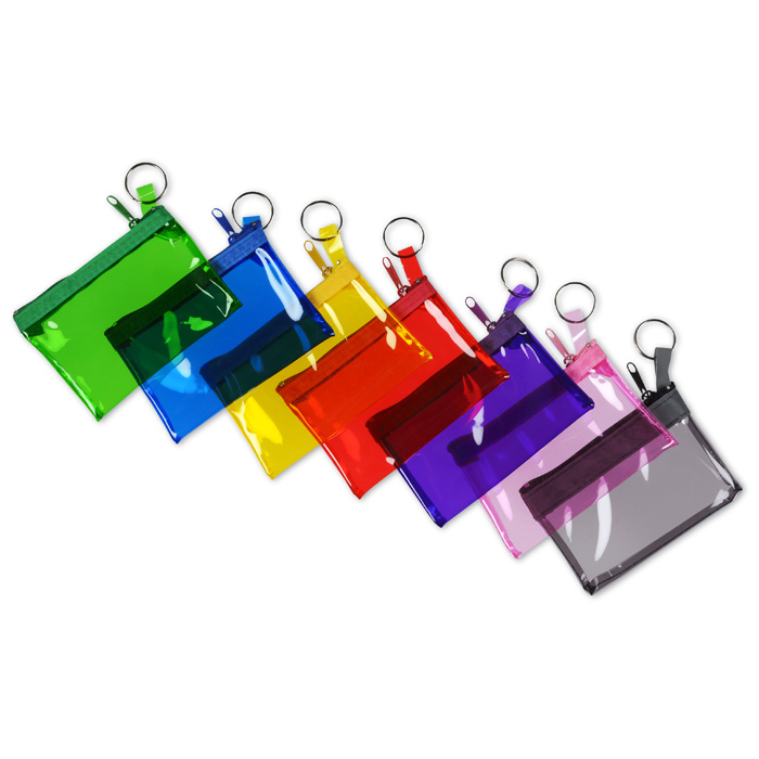 4imprint.com: Key Ring Zippered Pouch 102936