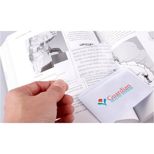 Magnifier with Card Pouch - Full Color Image 1 of 2