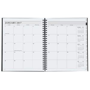 Timeplanner Weekly Calendar - Leather