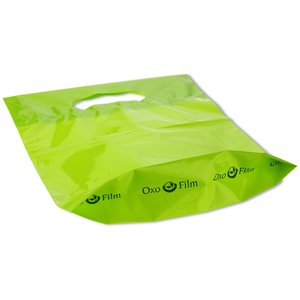 "Oxo-Biodegradable Die Cut Bag - 18"" x 15"""