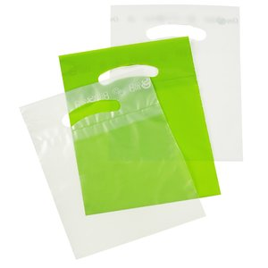 Oxo-Biodegradable Die Cut Bag - 10