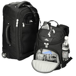 High Sierra Wheeled Carry-On w/DayPack Image 2 of 3