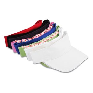 Lightweight Brushed Twill Visor - 24 hr Image 1 of 2