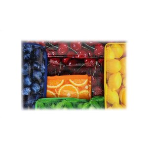 PhotoGraFX Six Pack Cooler - Oranges - Overstock Image 2 of 3