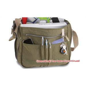 Expandable Messenger Laptop Bag - Closeout Image 1 of 2