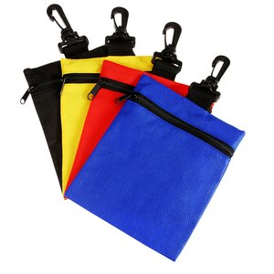 Non-Woven Zippered Pouch Image 1 of 1