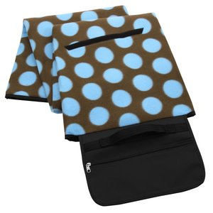 Picnic/Stadium Blanket - Polka Dot Image 1 of 4