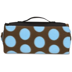 Picnic/Stadium Blanket - Polka Dot Image 3 of 4