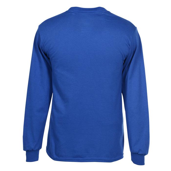 3ed9c52fb5e 4imprint.com  Gildan 5.5 oz. DryBlend 50 50 LS T-Shirt - Colors 103477-LS-C