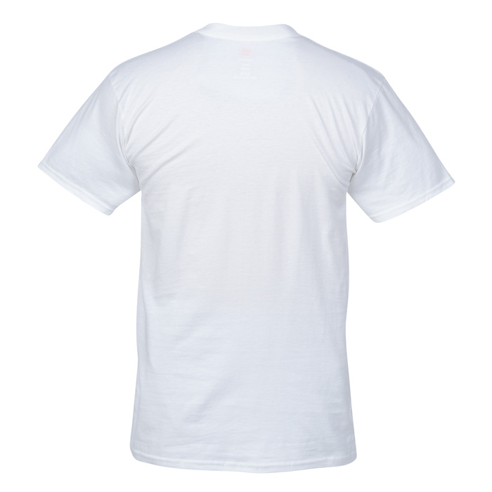 31334fe60ee9 4imprint.com  Hanes Nano-T V-Neck T-Shirt - Men s - White 103478-M-VN-W