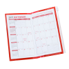 Planner w/Zip-Close Pocket - Monthly - Translucent Image 1 of 2