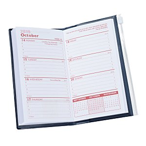 Planner with Zip-Close Pocket - Weekly - Opaque Image 4 of 4