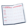 Planner with Zip-Close Pocket - Monthly - Academic - Opaque Image 4 of 4