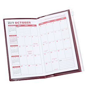 Planner with Zip-Close Pocket - Monthly - Opaque Image 4 of 4