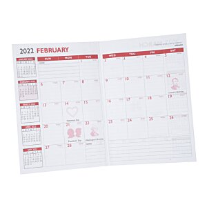 Executive Monthly Planner - Marble