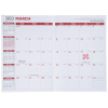 Executive Monthly Planner - Marble - Academic Image 2 of 2