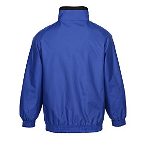 Harriton Fleece-Lined Nylon Jacket Image 2 of 2