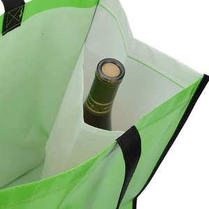 "Laminated Shopping Tote - 14-1/2"" x 16-1/4"""