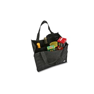 Recycled PET Grocery Tote - Closeout Image 2 of 3