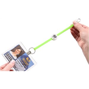 Key Flex Retractable Badge Holder - Closeout Colors Image 2 of 2