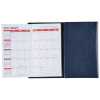 Tri-Fold Academic Planner w/Scratch Pad & Contact Book