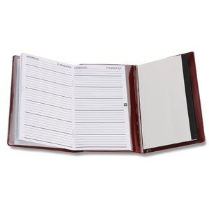 Tri-Fold Monthly Planner w/Scratch Pad & Contact Book Image 2 of 3