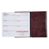Tri-Fold Weekly Planner w/Scratch Pad & Contact Book