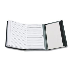 Tri-Fold Weekly Planner with Notepad & Contact Book Image 1 of 3