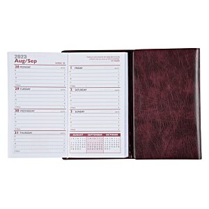 Tri-Fold Weekly Planner with Notepad & Contact Book Image 3 of 3
