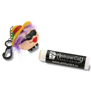 Goofy Clipz Holder w/Lip Balm - Beach Lady Image 1 of 1