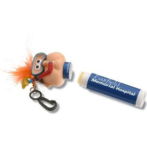 Goofy Clipz Holder w/Lip Balm - Snorkel Guy